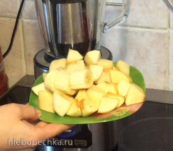 Домашняя Фруто-Няня (сливочное фруктовое пюре в блендере Steba MX2Plus)
