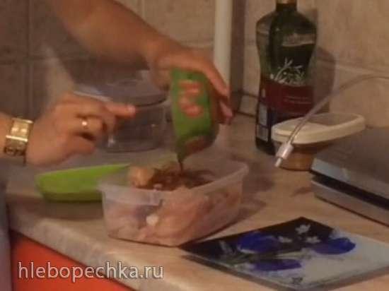 Нежное куриное филе(гриль Steba 4.4)