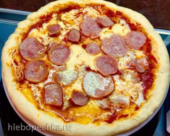 Пицца Классическая на тонком тесте (мультипечь Tristar PZ-2881)
