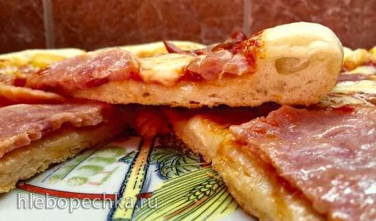 Пицца «Классическая» на тонком тесте (мультипечь Tristar PZ-2881)