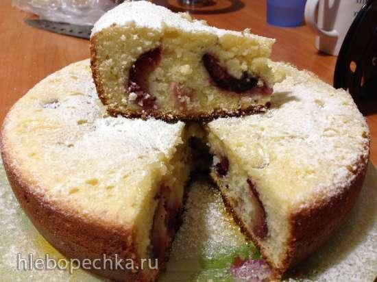 Пирог со сливами (Steba DD1)
