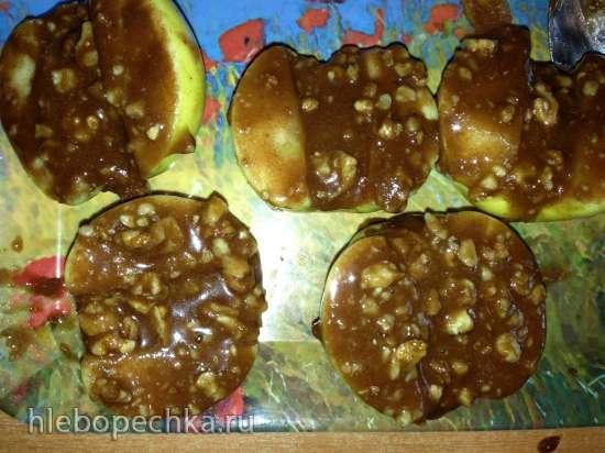 Яблоки с медом, орехами и корицей в Су-Вид Steba SV-1