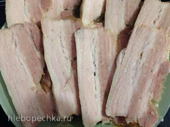 Свиная грудинка в специях (Sousvide Steba SV-1)