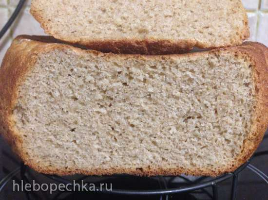 Пшенично-ржаной хлеб (скороварка Steba DD1)