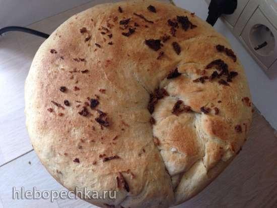 Медово-луковый пшеничный хлеб  (скороварка  Steba DD1Eco)