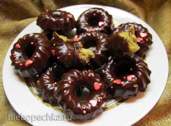 Бублики с чаем матча (Green Tea Donuts)