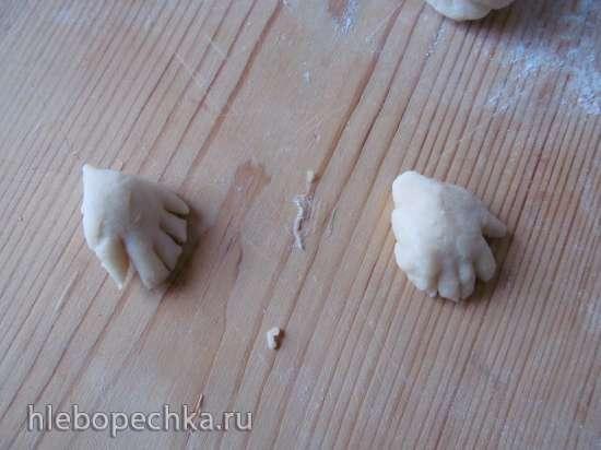 Итальянские пасхальные фигурки ( Sgute Pasquali Calabresi )