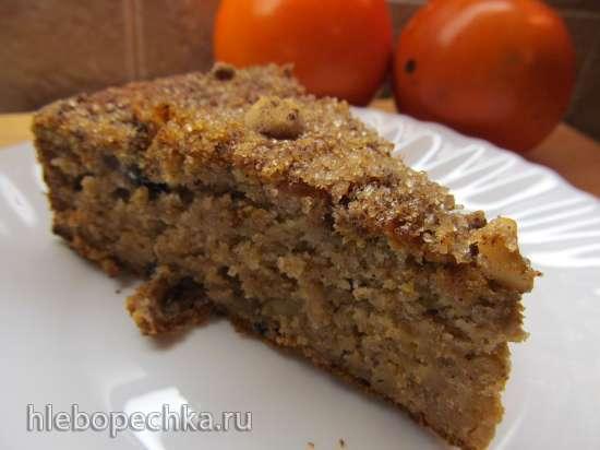 Сельский пирог с хурмой и тыквой (Torta rustica, zucca e cachi)