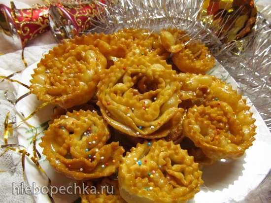 Картеллате к Рождеству (Cartellate pugliesi con miele o vincotto)