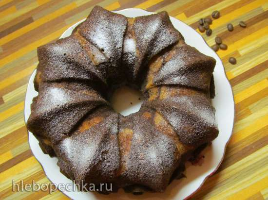 Кекс тыквенно-шоколадный