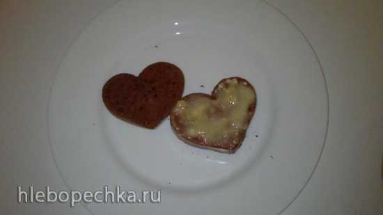 Пирожные Валентинки