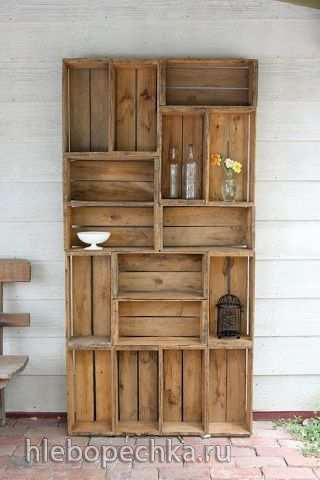Мебель и др. из деревянных поддонов