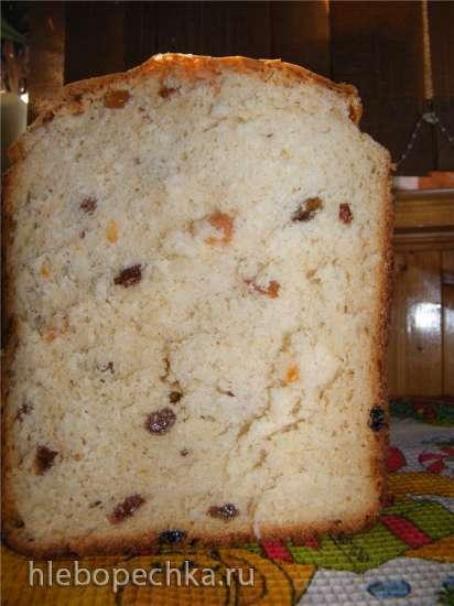 Кулич Яблочный легкий (хлебопечка)