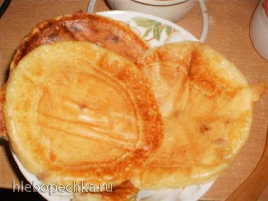 Блинчики творожные Quarkpfannkuchen