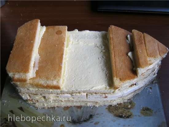 Торт Корабль Мастер-класс