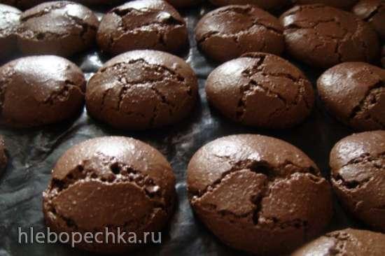Макаронс шоколадные (Macarons au chocolat)
