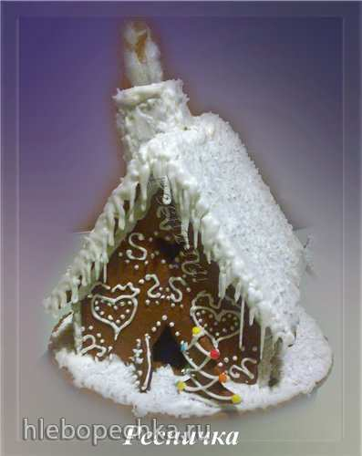 Пряничный домик (как собрать и украсить)