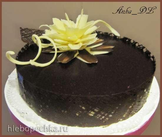 Белый торт с цветами фото 10