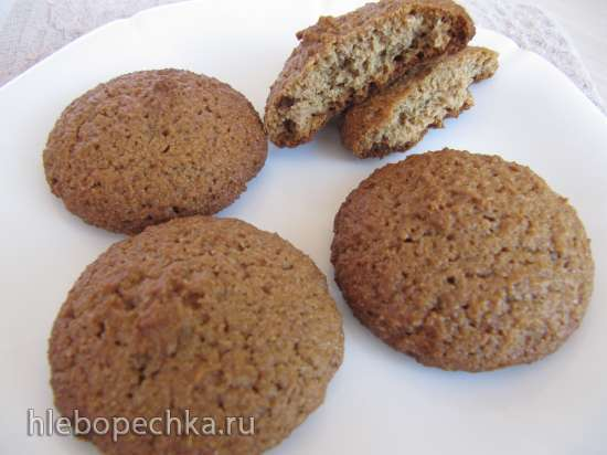 Овсяно-ржаное печенье