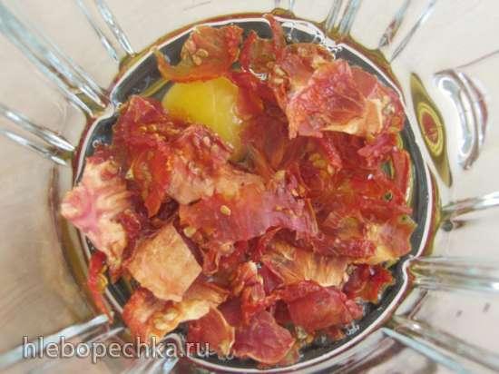 Паста с сушеными томатами