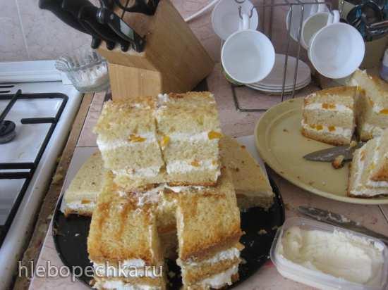 Торт Симба (мастер-класс)
