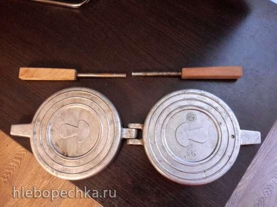 Продам форму для приготовления грибочков на газовой плите, СССР.