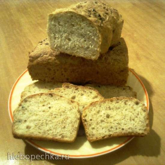 Финский овсяный хлеб (духовка)