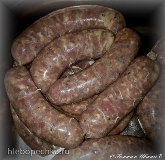 Бараньи колбаски гриль