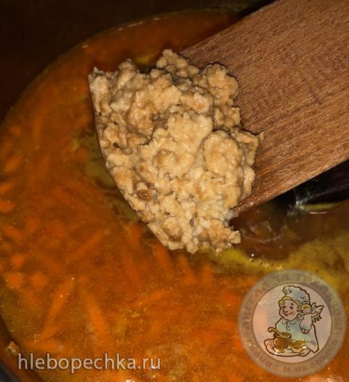 Суп из красной рыбы со сливками … финский (Лохикейтто)
