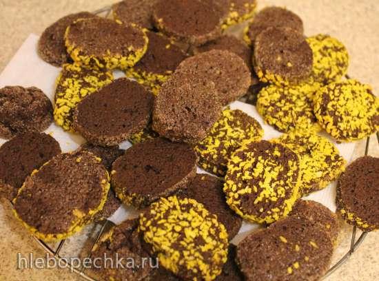 Пикантное шоколадное печенье на кокосовом масле