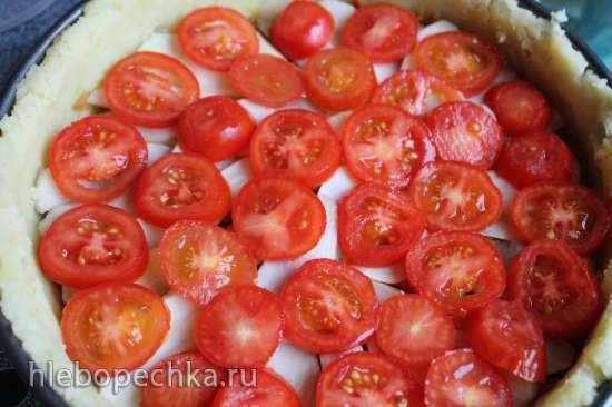 Картофельно-капустная запеканка с топинамбуром