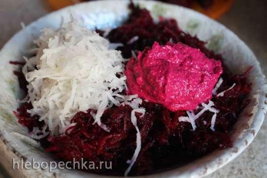 Салат свекольный Пурпурная глубина (с сезамовой ноткой)