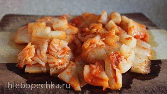 Кимчхи ччиге (вегетарианский вариант)