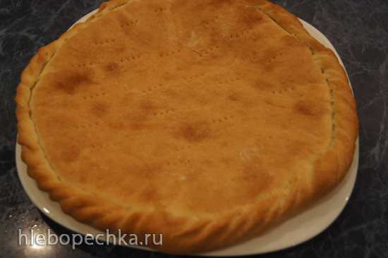 Пирог «Лимонник» (постный)