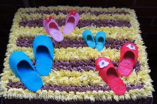 Торты с обувью