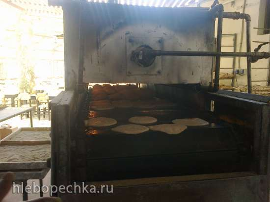Индийские лепёшки НААН (хлебопечка+духовка)
