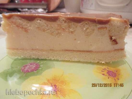 Торт Три вкуса бисквитно-желейный (несколько вариантов исполнения)