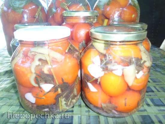 Маринованные помидорки под водочку «Страна советов»