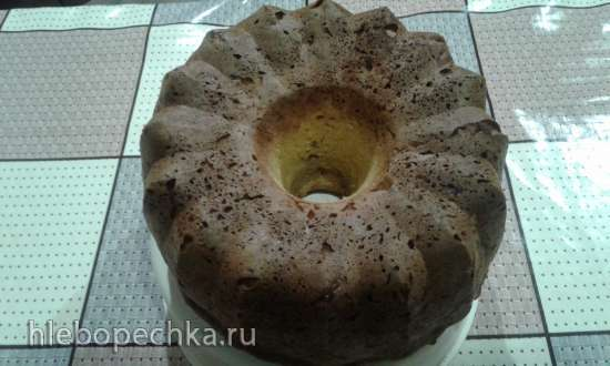 Творожно-тыквенный кекс Последний день осени