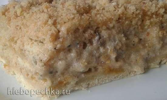 Торт Королевский с абрикосовым джемом
