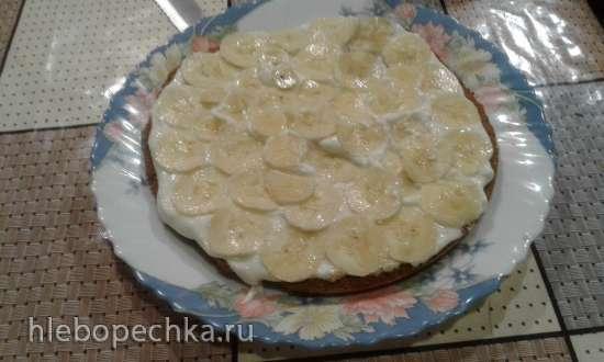 Шоколадно-банановый торт (еще один вариант)