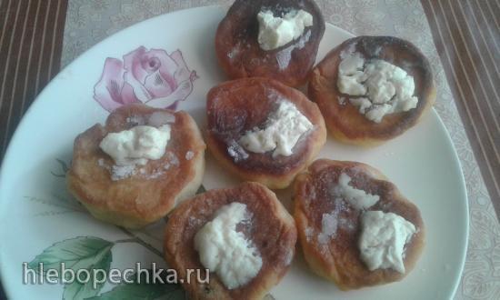 Сырники с манной крупой и ванилином