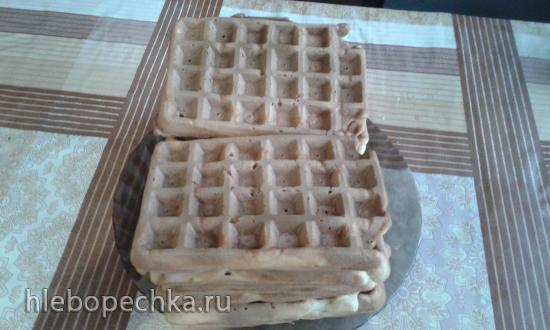 Вафли на газированной воде (рецепт с инструкции к польской вафельнице МРМ MGO 25)