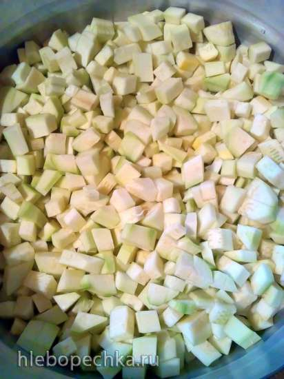 Зимний салат из кабачков