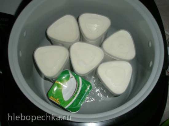Йогурт в мультиварке Polaris