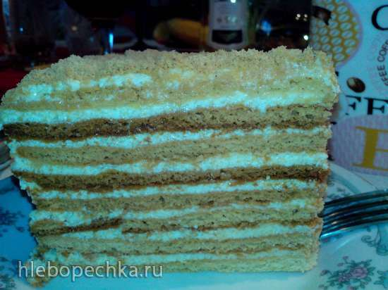 Торт - медовик Чудо