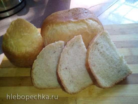 Простой хлеб на луковице