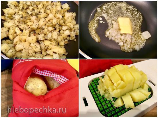 Сметанно-яичный соус к картошке