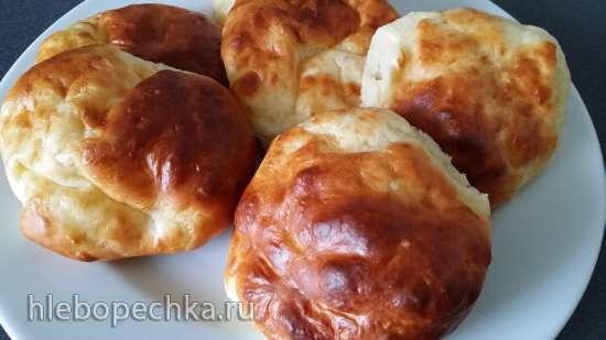 Творожные булочки к завтраку