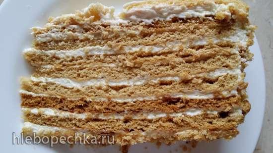 Торт медовый Польский